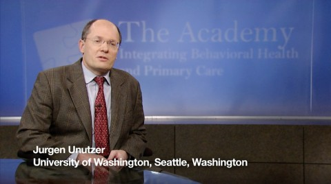 Jurgen Unutzer, University of Washington, Seattle, Washington offering insight.